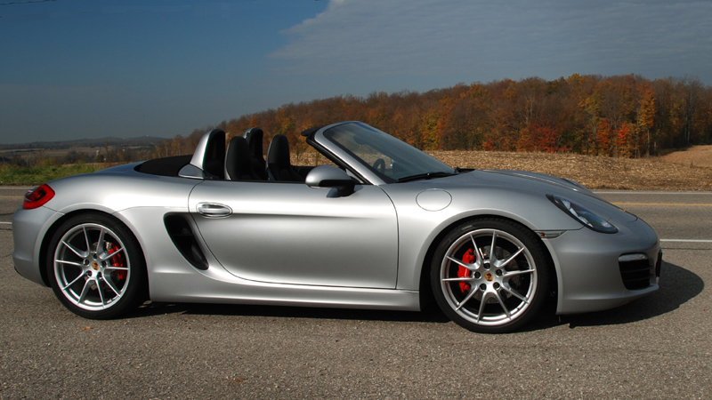 Porsche Boxster Pictures And Information